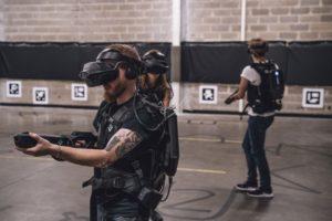 VR déplacement libre