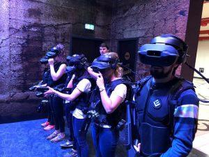 les joueurs en VR sont prêts à bordeaux